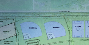 site plan of recreation complex
