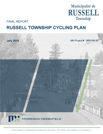 Cycling Plan Cover Page